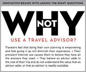 Why not use a Virtuoso travel advisor?